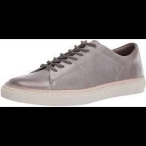 Frye Essex Low Leather Sneakers 10 Sand
